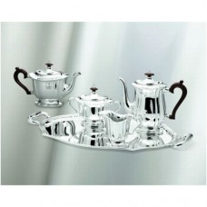 Cesa 1882 4 pce Chippendale coffee and tea set