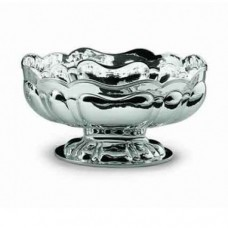 Cesa 1882 Oval centerpiece in silver chiseled