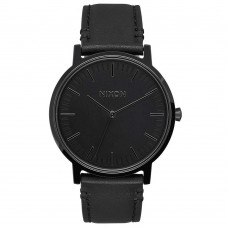 Nixon Porter Leather All Black