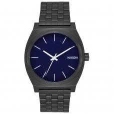 Nixon Time Teller All Black / Dark Blue
