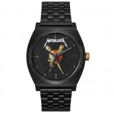 Nixon Time Teller Black / Pushead / Metallica