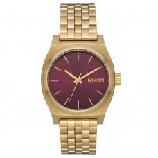 Nixon Time Teller Medium Light Gold Bordeaux Sunray