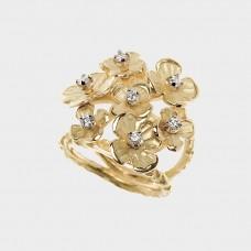 Quaglia Ring Floating Flowers