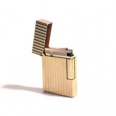 Lighter S.T. Dupont in 18k gold numbered series 0156